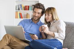 Online Konto mit Kreditkarte